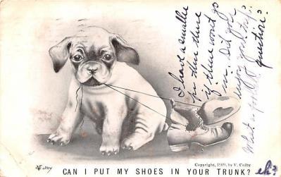 xrt999395 - Artist Signed Post Card