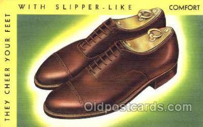 xsa001006 - Shoe Advertising Postcard Postcards