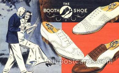 xsa001009 - The Booth Shoe Shoe Advertising Postcard Postcards