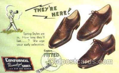 Conformal Personalized Shoes Shoe Advertising Postcard Post card