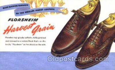 xsa001024 - Florsheim Shoe Advertising Postcard Postcards