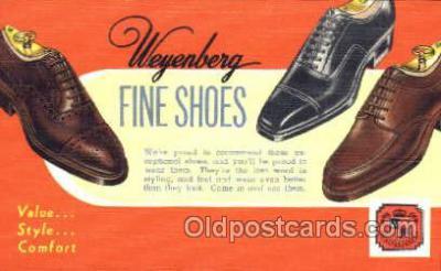 xsa001026 - Weyenberg Shoe Advertising Postcard Postcards