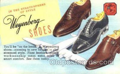 xsa001027 - Weyenberg Shoe Advertising Postcard Postcards