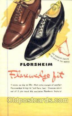 xsa001032 - Florsheim Shoe Advertising Postcard Postcards
