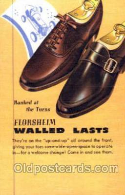 xsa001033 - Florsheim Shoe Advertising Postcard Postcards
