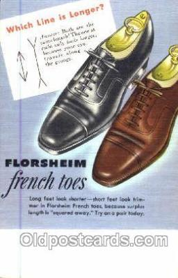 xsa001035 - Florsheim Shoe Advertising Postcard Postcards