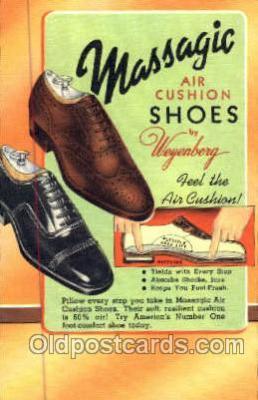 xsa001036 - Massagic Shoe Advertising Postcard Postcards