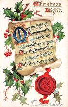xms000035 - Christmas Post Card Old Vintage Antique Xmas Postcard