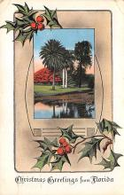 xms000115 - Christmas Post Card Old Vintage Antique Xmas Postcard