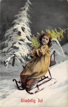 xms000157 - Christmas Post Card Old Vintage Antique Xmas Postcard