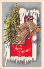 xms000251 - Christmas Post Card Old Vintage Antique Xmas Postcard