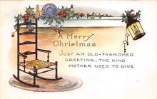 xms000273 - Christmas Post Card Old Vintage Antique Xmas Postcard