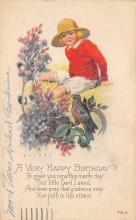 xms000431 - Christmas Post Card Old Vintage Antique Xmas Postcard