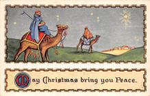 xms000577 - Christmas Post Card Old Vintage Antique Xmas Postcard