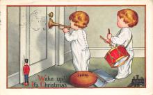 xms000675 - Christmas Post Card Old Vintage Antique Xmas Postcard