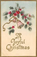 xms000743 - Christmas Post Card Old Vintage Antique Xmas Postcard