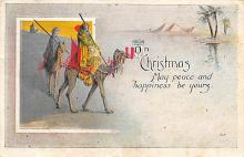 xms000761 - Christmas Post Card Old Vintage Antique Xmas Postcard