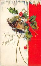 xms000781 - Christmas Post Card Old Vintage Antique Xmas Postcard