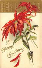 xms000797 - Christmas Post Card Old Vintage Antique Xmas Postcard