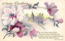 xms000885 - Christmas Post Card Old Vintage Antique Xmas Postcard