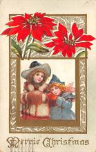 xms000941 - Christmas Post Card Old Vintage Antique Xmas Postcard