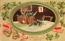 xms000999 - Christmas Post Card Old Vintage Antique Xmas Postcard