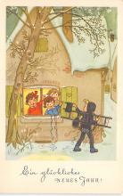 xms001131 - Christmas Post Card Old Vintage Antique Xmas Postcard