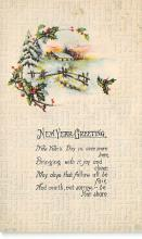 xms001149 - Christmas Post Card Old Vintage Antique Xmas Postcard