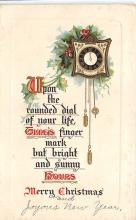 xms001203 - Christmas Post Card Old Vintage Antique Xmas Postcard