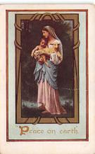 xms001229 - Christmas Post Card Old Vintage Antique Xmas Postcard