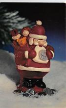 xms001259 - Christmas Post Card Old Vintage Antique Xmas Postcard