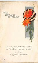 xms001299 - Christmas Post Card Old Vintage Antique Xmas Postcard