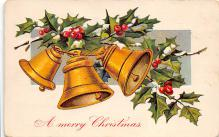 xms001365 - Christmas Post Card Old Vintage Antique Xmas Postcard