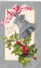 xms001397 - Christmas Post Card Old Vintage Antique Xmas Postcard