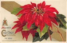 xms001467 - Christmas Post Card Old Vintage Antique Xmas Postcard
