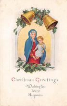 xms001471 - Christmas Post Card Old Vintage Antique Xmas Postcard