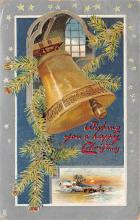 xms001499 - Christmas Post Card Old Vintage Antique Xmas Postcard