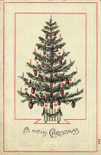 xms001519 - Christmas Post Card Old Vintage Antique Xmas Postcard