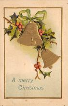 xms001527 - Christmas Post Card Old Vintage Antique Xmas Postcard