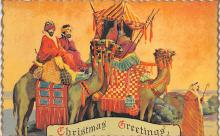 xms001563 - Christmas Post Card Old Vintage Antique Xmas Postcard