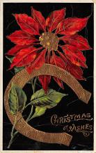 xms001565 - Christmas Post Card Old Vintage Antique Xmas Postcard