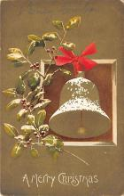 xms001613 - Christmas Post Card Old Vintage Antique Xmas Postcard