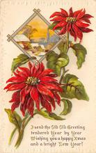xms001631 - Christmas Post Card Old Vintage Antique Xmas Postcard