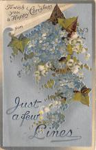 xms001647 - Christmas Post Card Old Vintage Antique Xmas Postcard