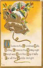 xms001659 - Christmas Post Card Old Vintage Antique Xmas Postcard