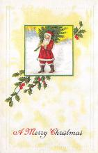 xms001727 - Christmas Post Card Old Vintage Antique Xmas Postcard