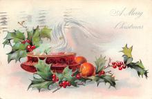 xms001793 - Christmas Post Card Old Vintage Antique Xmas Postcard