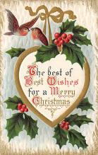 xms001797 - Christmas Post Card Old Vintage Antique Xmas Postcard