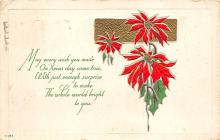xms001835 - Christmas Post Card Old Vintage Antique Xmas Postcard