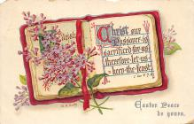 xms001957 - Christmas Post Card Old Vintage Antique Xmas Postcard